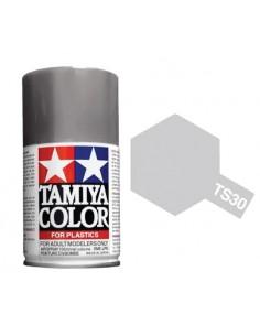 Tamiya - TS-30 - Silver Leaf 100ml Spray Acrílico  - Hobby Sector