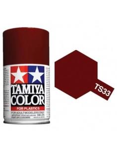 Tamiya - TS-33 - Dull Red 100ml Spray Acrílico  - Hobby Sector