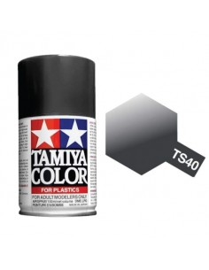 Metallic Black 100ml Acrylic Spray