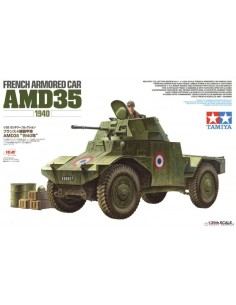 French Armored Car AMD35 1940