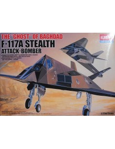 The Ghost of Baghdad F-117A Stealth Attack-Bomber