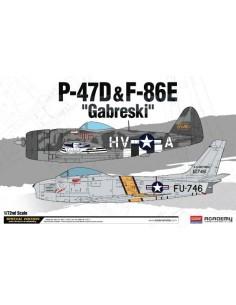P-47D & F-86E Gabreski