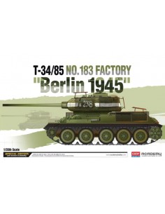T-34/85 No.183 Factory Berlin 1945