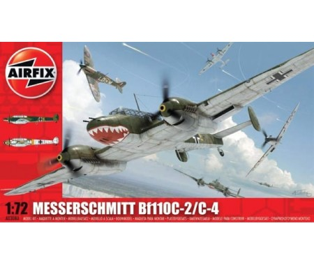 Airfix - Messerschmitt Bf110C-2/C-4