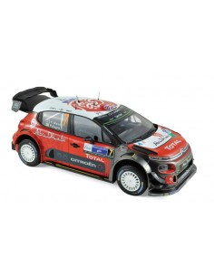 CITROEN C3 WRC No 7 WINNER MEXIQUE 2017