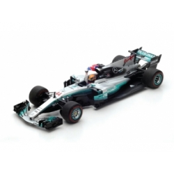 MERCEDES GP W08 EQ POWER MEXIQUE GP CHAMPION DU MONDE 2017