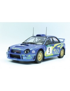 Subaru Impreza S7 555 WRT Winner New Zealand 2001