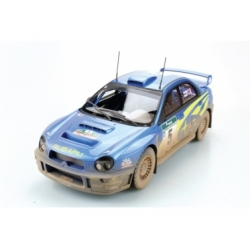 Subaru Impreza S7 555 WRT Winner New Zealand 2001 dirty version