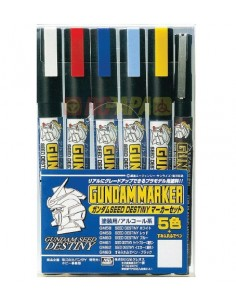 Gundam Marker Seed Destiny Set of 6