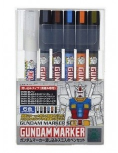 Gundam Marker Pour Type Set of 6
