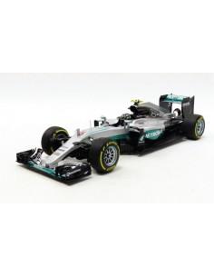 Mercedes AMG Petronas F1 W07 Hybrid N. Rosberg Abu Dhabi GP World Champion 2016