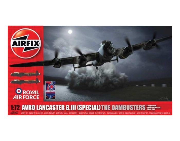Airfix - Avro Lancaster B.III (Special) The Dambusters