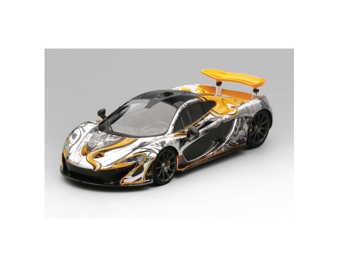 McLaren P1 Art Car by Sticker City 2015