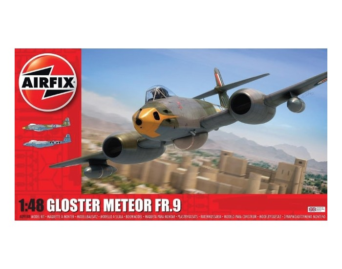 Airfix - A09188 - Gloster Meteor FR9  - Hobby Sector