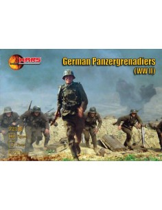 WWII German Panzergrenadiers
