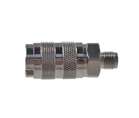 Quick Coupling, nd 2.7mm With M5 x 0,45 Male Thread, e.g. For BADGER/REVELL