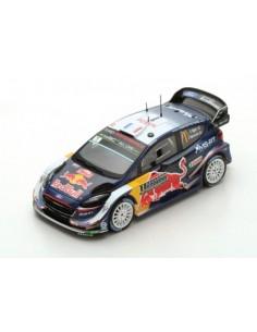 Ford Fiesta WRC S. Ogier / J. Ingrassia No.1 Winner Rally Monte Carlo 2018