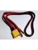 Connector Cable XT60 + 4mm Bullet Connectors