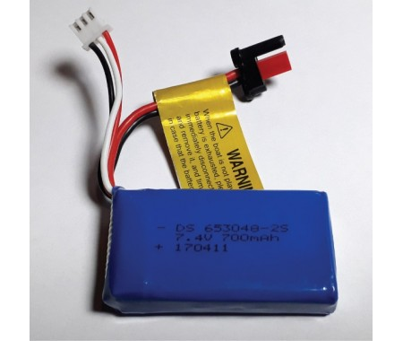 7,4v 1900mAh 2S LiPo 30c Deans Plug