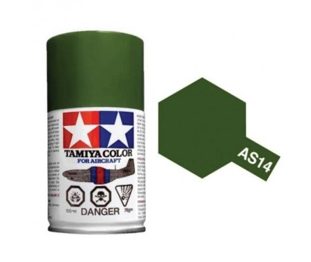 OLIVE GREEN (USAF) 100ml Acrylic Spray