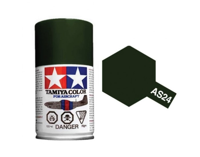 DARK GREEN (LUFTWAFFE) 100ml Acrylic Spray