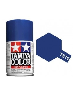 Tamiya - TS-15 - BLUE 100ml Acrylic Spray  - Hobby Sector