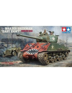 KOREAN WAR U.S. MEDIUM TANK M4A3E8 SHERMAN 'EASY EIGHT'