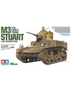 U.S. LIGHT TANK M3 STUART LATE PRODUCTION