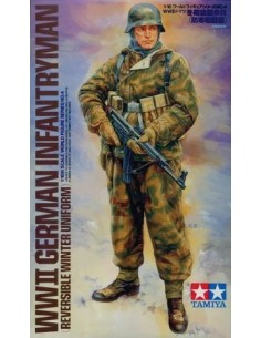 WWII GERMAN INFANTRYMAN (REVERSIBLE WINTER UNIFORM)