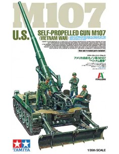 U.S. SELF-PROPELLED GUN M107 (VIETNAM WAR)
