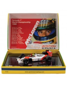 MCLAREN HONDA MP4/4 No12 AYRTON SENNA WINNER JAPAN GP 1988 WORLD CHAMPION