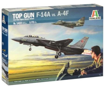 Top Gun F-14A vs A-4F