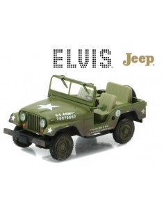 JEEP WILLYS M-38A1 US ARMY ELVIS PRESLEY