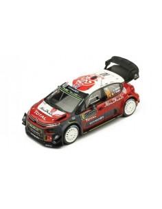 CITROËN C3 WRC K. MEEKE / P. NAGLE No.10 RALLYE MONTE CARLO 2018