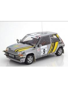 RENAULT 5 GT TURBO A. Oreille / G. Thimonier RALLYE CÔTE D'IVOIRE 1989