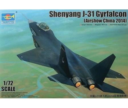 Shenyang J-31 Gyrfalcon (Airshow China 2014)