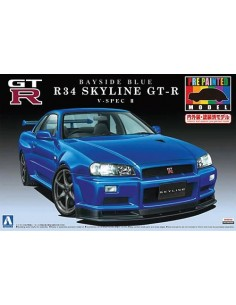R34 Skyline GT-R V-spec II Bayside