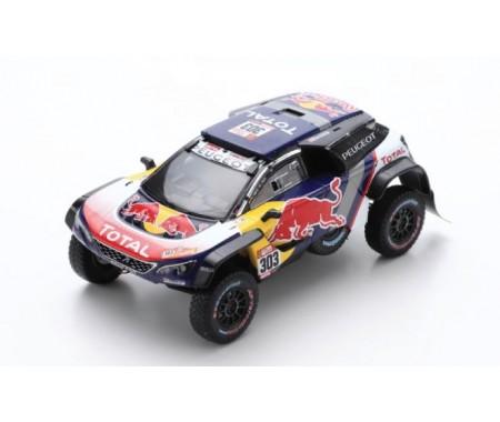 Peugeot 3008 DKR Maxi No.303 Winner Dakar 2018