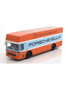 Mercedes O317 Transporter Porsche Gulf Race Car 1968