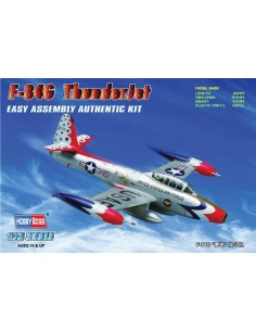 F-84G Thunderjet Fighter - Easy Assembly Kit