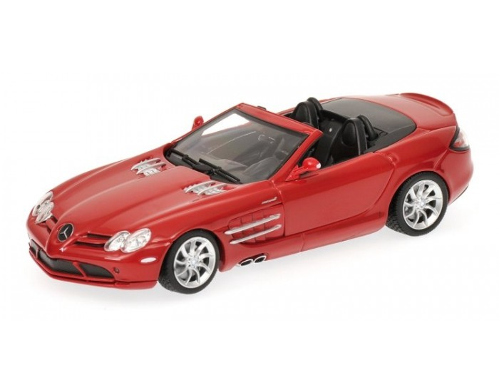MERCEDES-BENZ SLR - MCLAREN ROADSTER - 2007 - RED