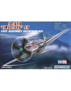 "P-51D ""Mustang IV"" - Easy Assembly Kit"