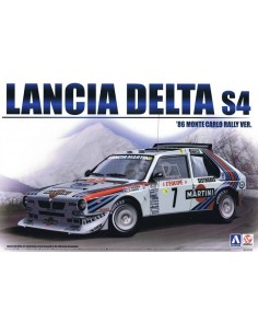 Lancia Delta S4 1986 Monte Carlo Rally Version