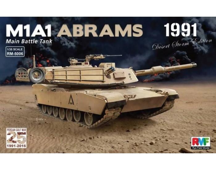 "Rye Field Models - RM-5006 - M1A1 Abrams ""Desert Storm edition 1991""  - Hobby Sector"