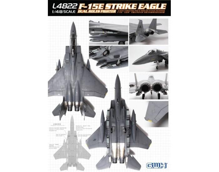 F-15E Strike Eagle Dual Roles Fighter