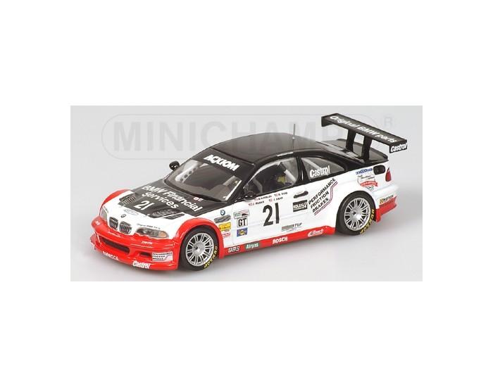 BMW M3 GTR - SAID/AUBERLEN/MARKS/HAND - TEAM PROTOTYPE TECHNOLOGY GROUP - 24h DAYTONA 2004