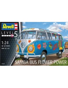 "VW T1 Samba ""Flower Power"""