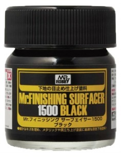 MR. FINISHING SURFACER 1500 BLACK 40 ML