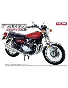 Aoshima - 052983 - Kawasaki 750RS (Z2) 1973 With Custom Parts  - Hobby Sector