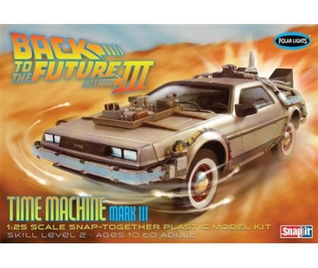 Back To the Future III Delorean Time Machine Mark III